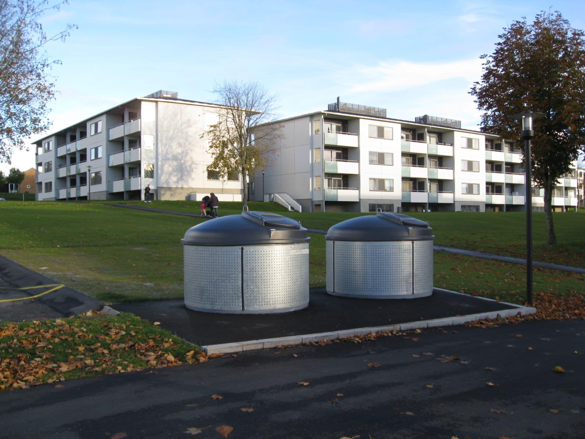 Molok®Classic beklædt med perforeret galvaniseret stål, Aalborg