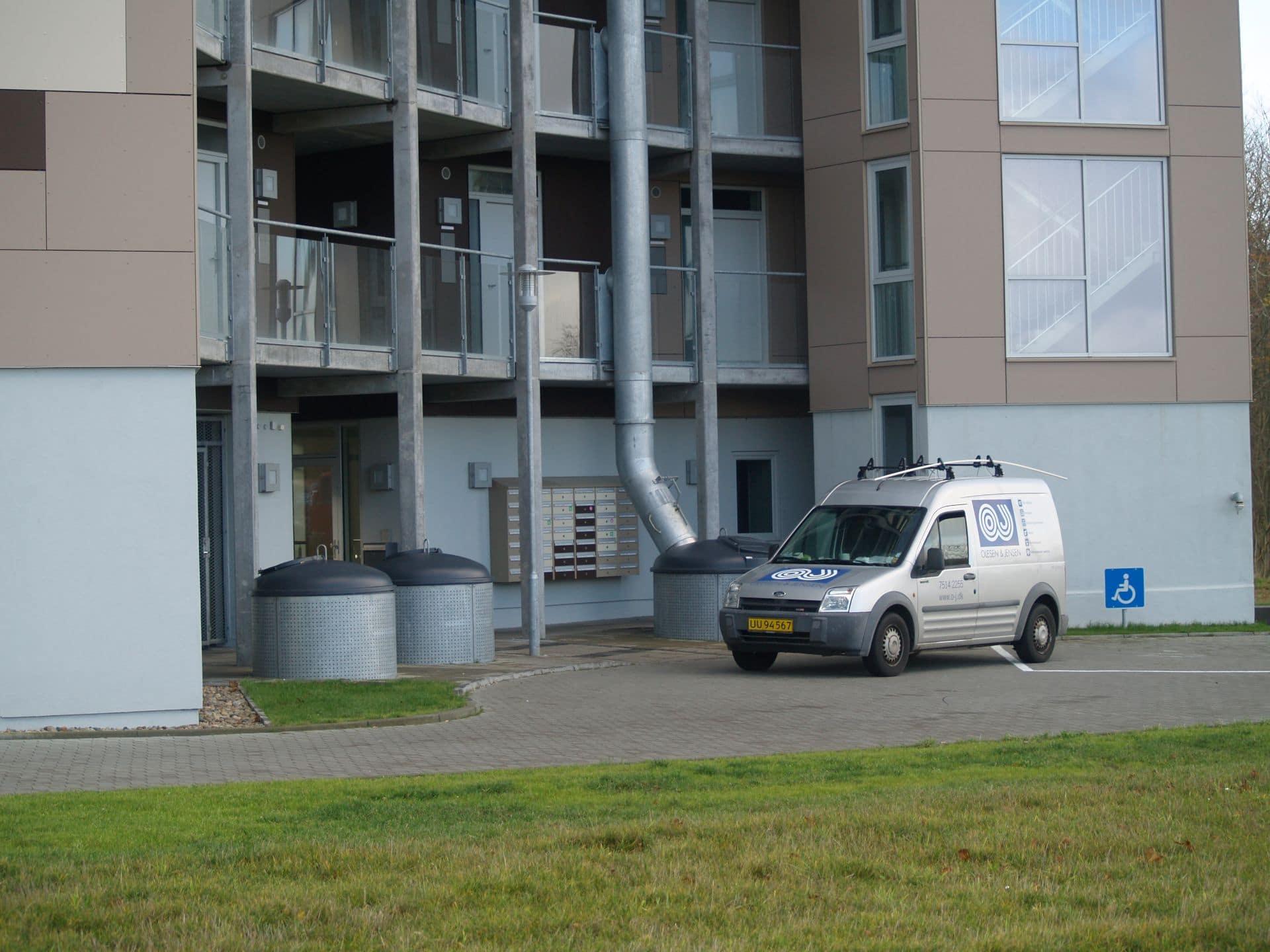 Nedgravet skakteløsning med Molok®Classic, Esbjerg