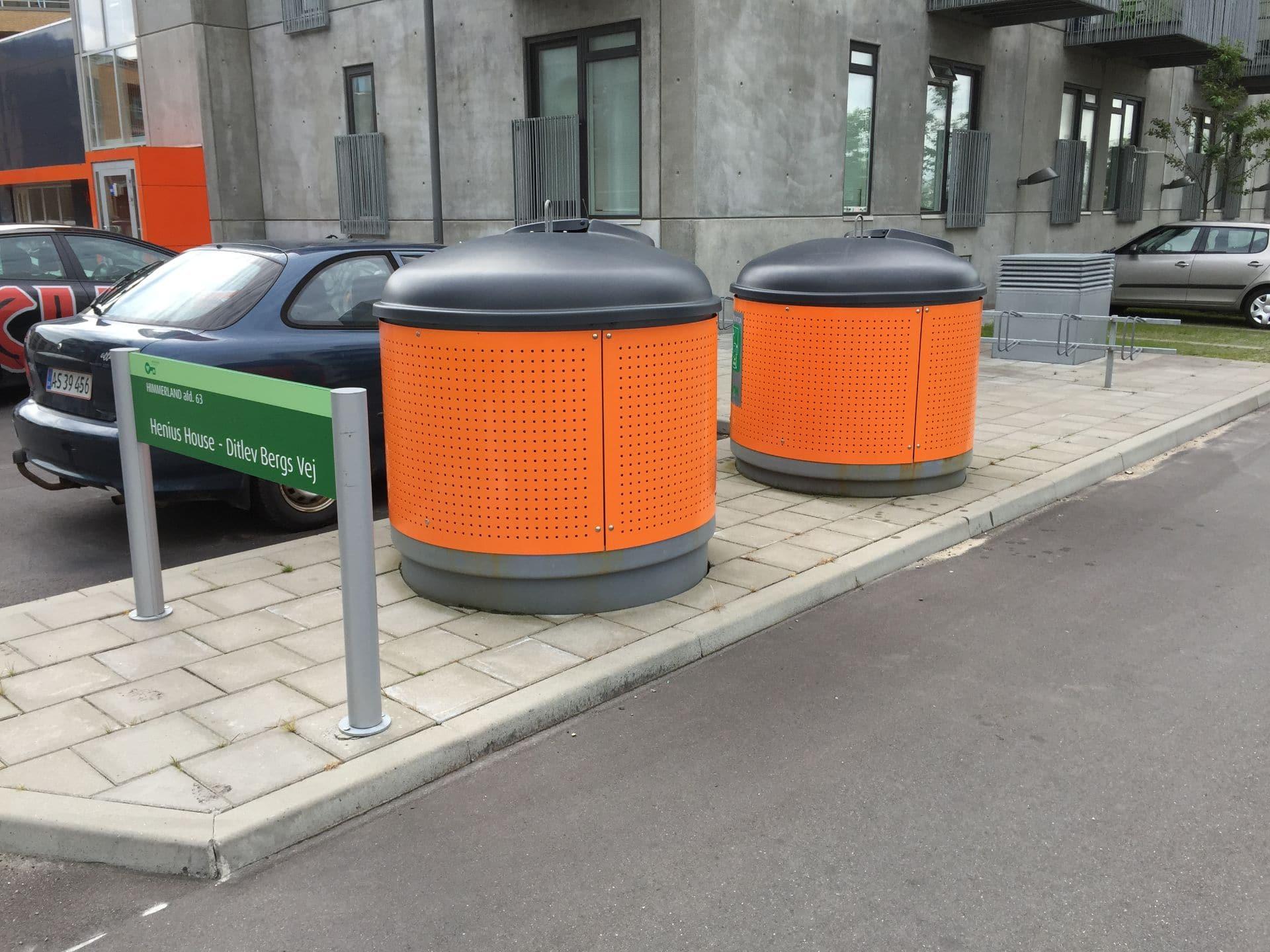 Molok®Classic beklædt med malet galvaniseret stål, Aalborg