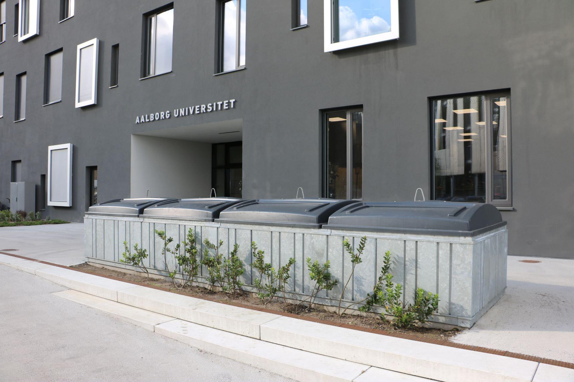 Molok®Domino beklædt med special stålbeklædning, Musikkens Hus Aalborg