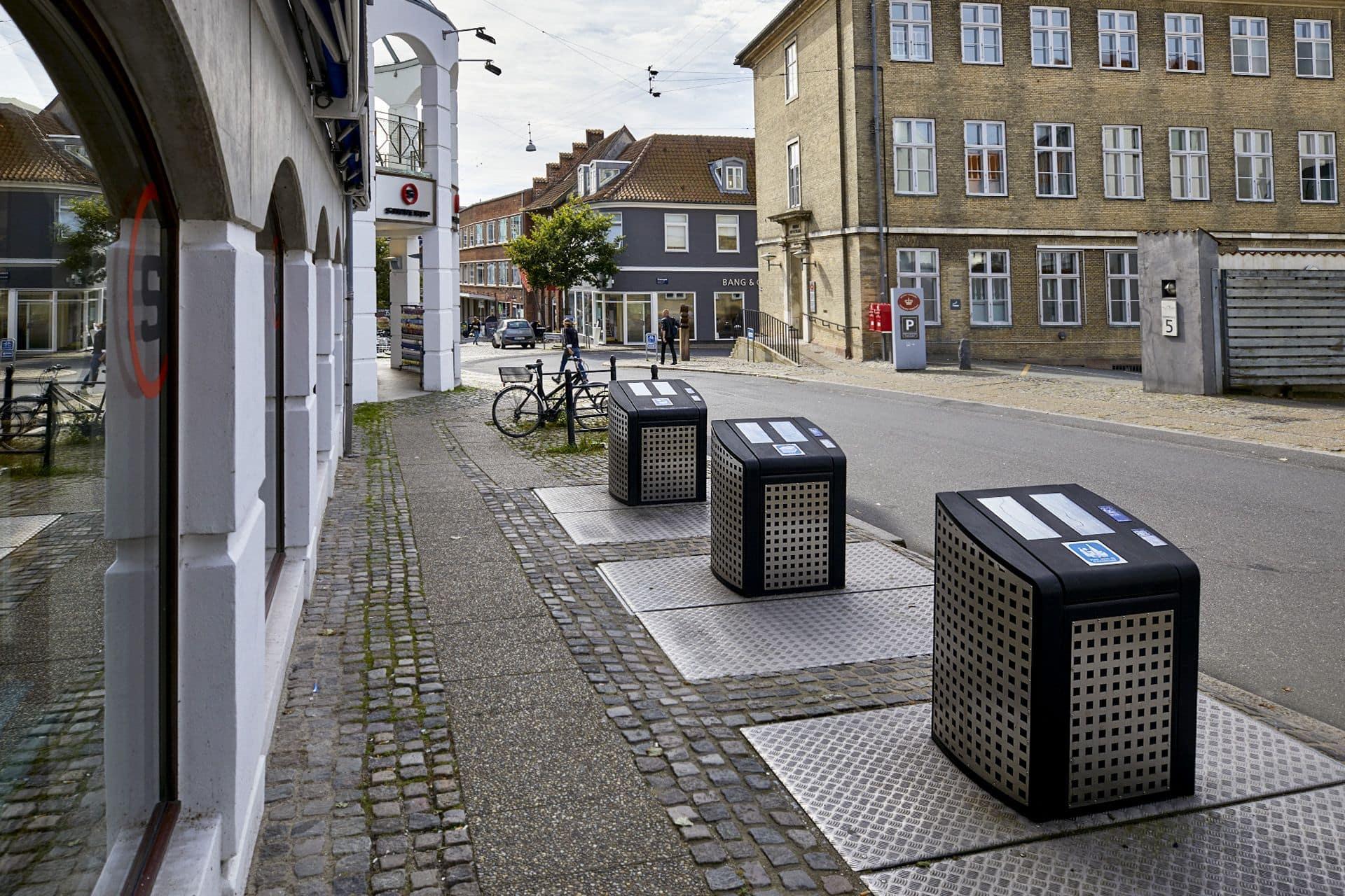 Antwerp med elektronisk adgangskontrol, Randers