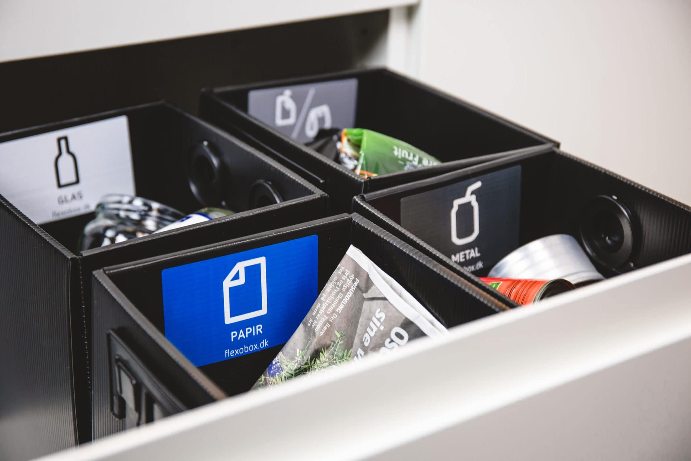 Indendørs affaldshåndtering