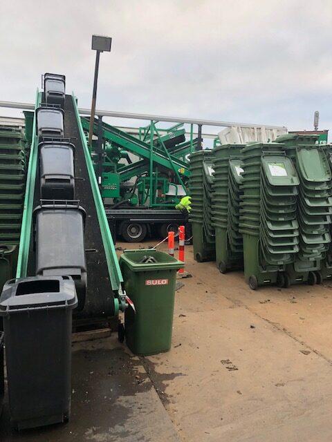 joca recycling shredder