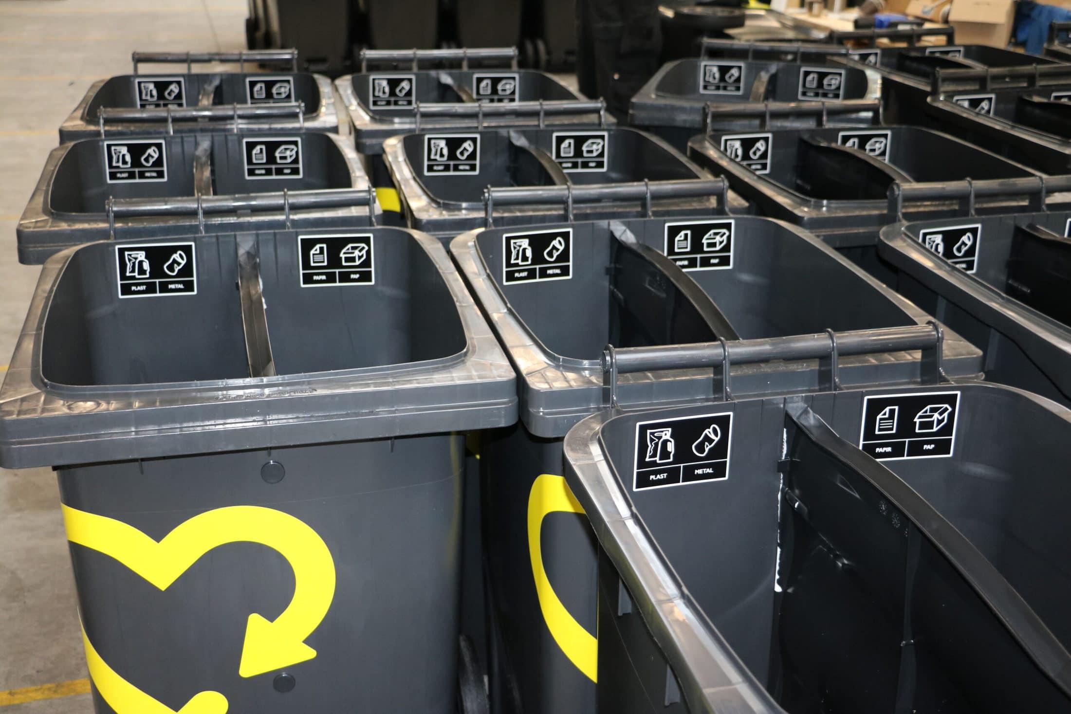 Affaldsbeholdere til Aalborg Kommune