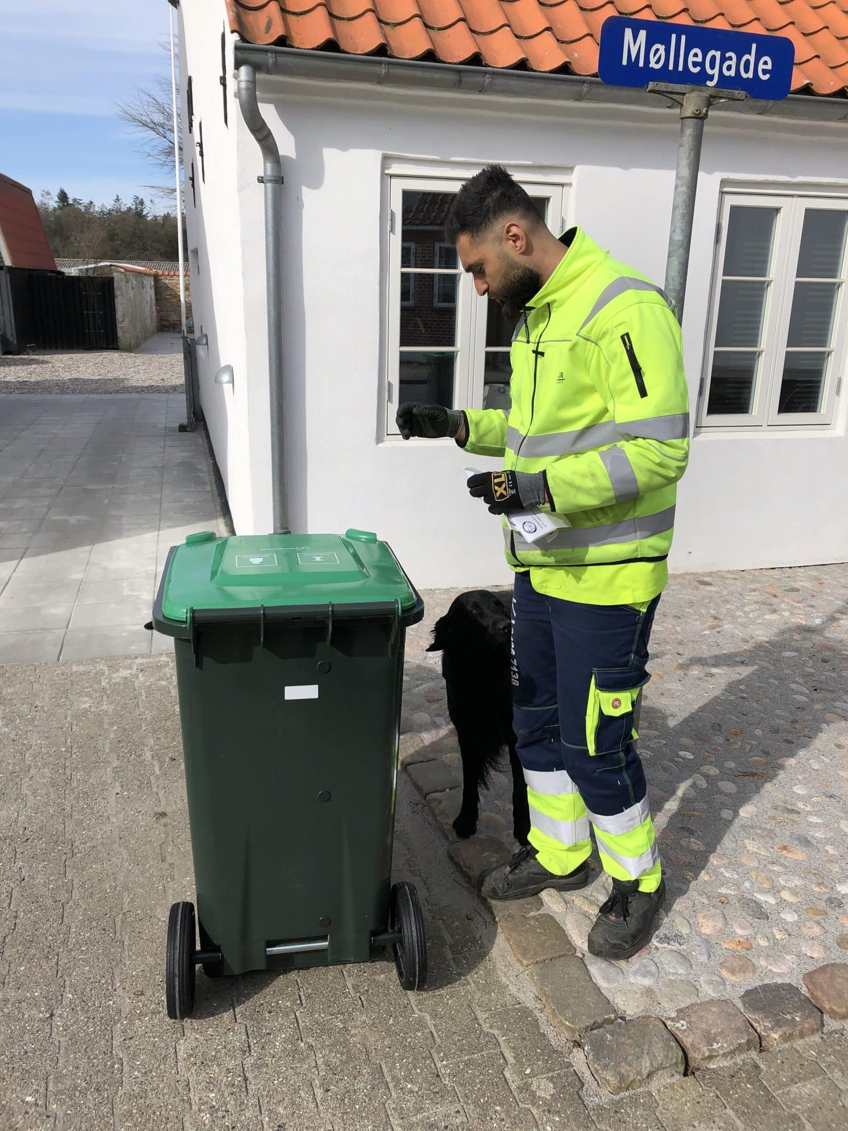 Levering af affaldsbeholdere til Tønder Kommune