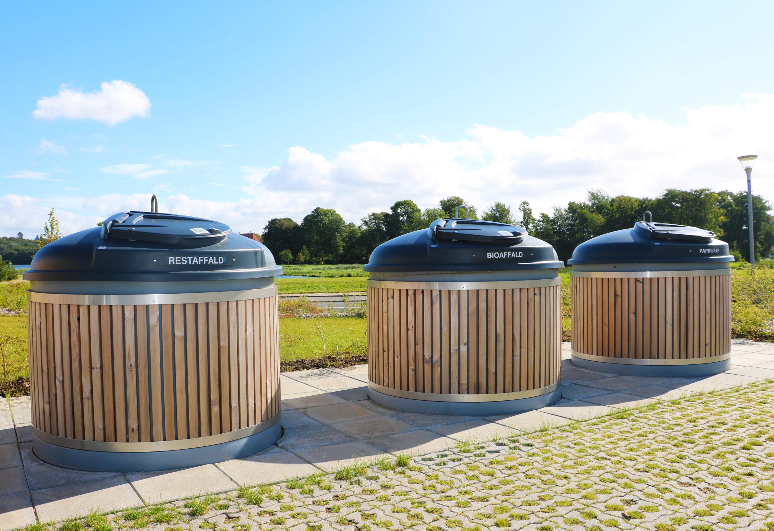 Molok®Classic, Sønæshave, Viborg, Rækkehuse med udsigt til natur