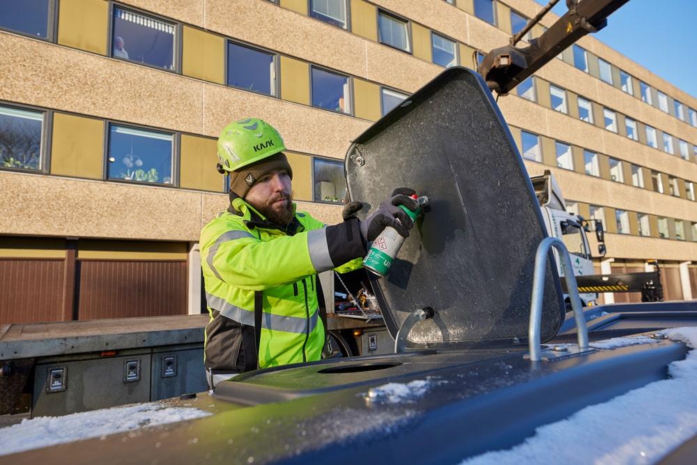 jocare SERVICE - kontrol og service af nedgravede beholdere