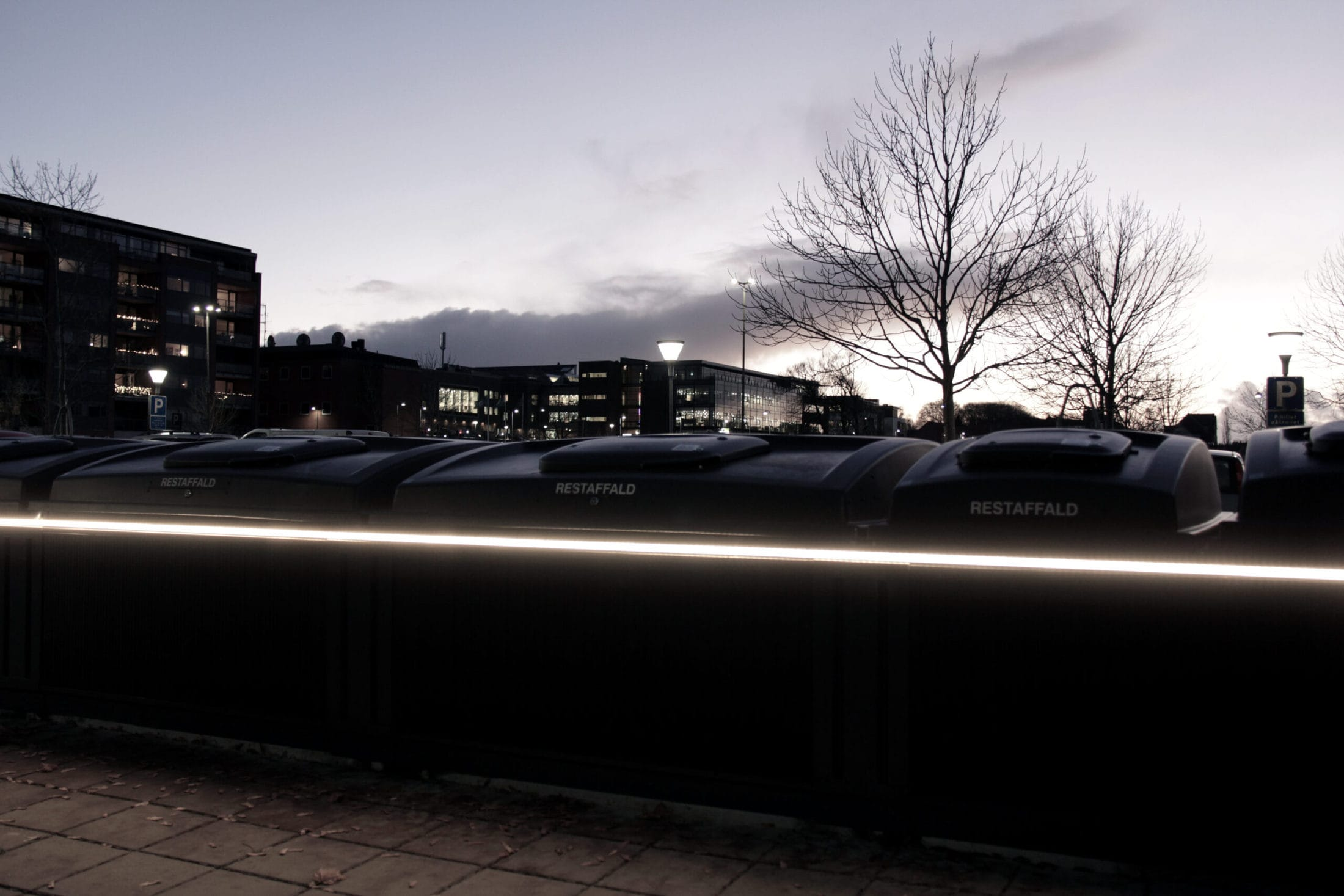 LED til Molok® Silkeborg Rådhus